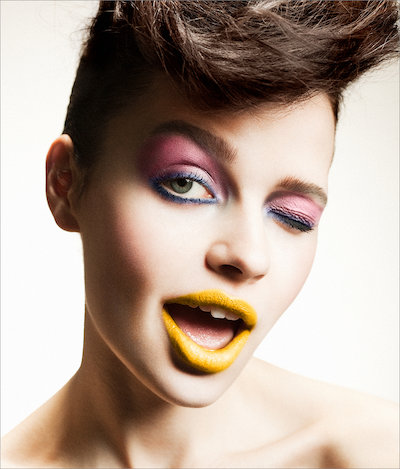 Editorial, Frontpage, Close Up, Closed Eyes, Colour, expression, Face, Happy, Make Up