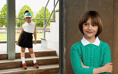 Editorial, Frontpage, Kids, Fashion, Kids, Kristinebergs IP, La Petite Magazine, Pari Damani, Rebecca Cohen, The Spectator