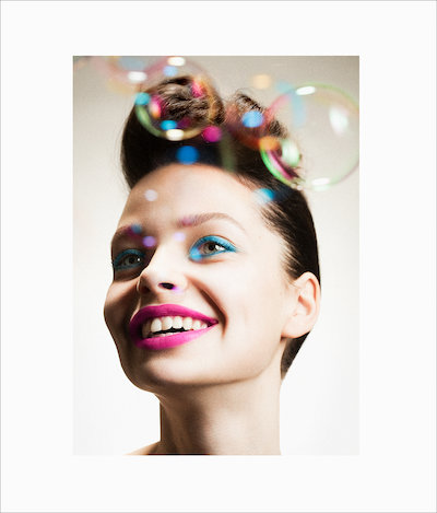 Editorial, Frontpage, Beauty, Close Up, Colour, Linda Sundqvist, Make Up Store